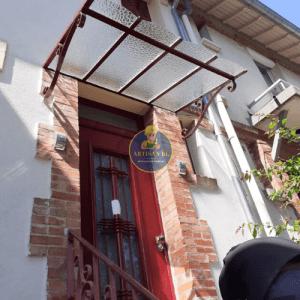 Remplacement vitrage verrière à motif le 10/05/2020 à Châtillon (APRES)